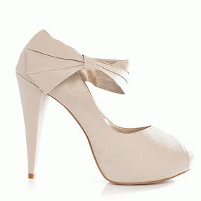 47125450c3 Sapato Peep Toe Belmon no Mercado Livre Brasil