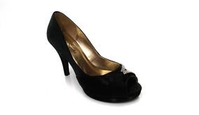 94620afa83 Sapatos Femininos Lindos Para Noiva - Sapatos Preto no Mercado Livre ...