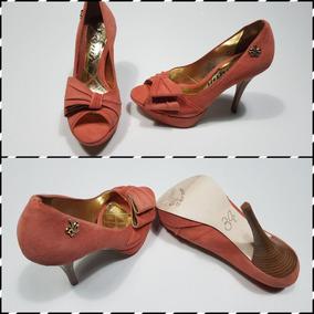 b00651f379 Peep Toe Meia Pata Coral Schutz - Sapatos no Mercado Livre Brasil