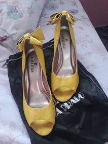 3369210af Sapatos Femininos Laura Prado Usado no Mercado Livre Brasil