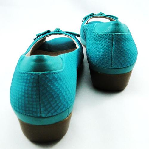 peep toe malu super comfort couro rebeca 44012-37