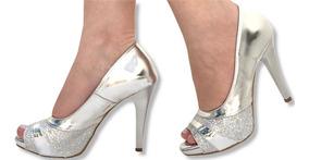 4efe0eed5 Salto Glitter - Sapatos com o Melhores Preços no Mercado Livre Brasil