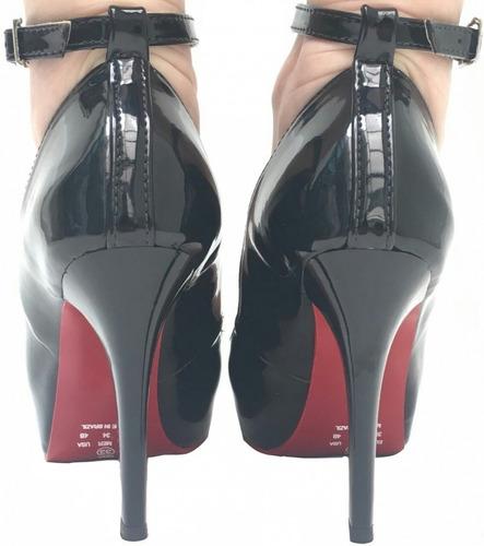 peep toe sapatos