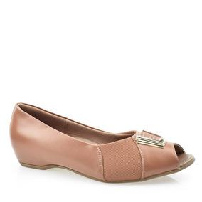 4a3bcf386c Barraca Para Camel Expor Feminino Peep Toe Usaflex - Sapatos no ...