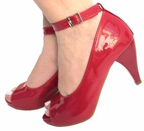 ddb73060b Sapato Peep Toe Baixo Uza Feminino Bahia Feira De Santana - Sapatos ...