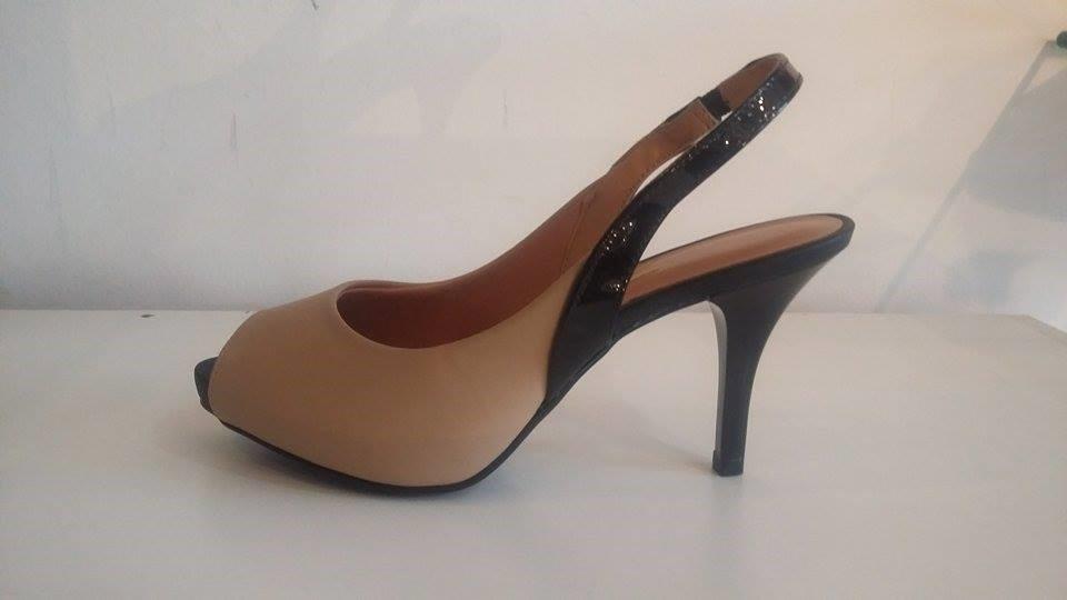 87839e955 Sapato Scarpin Chanel Peep Toe 1185.100 C Pata 1 Cml Vizzano - R ...