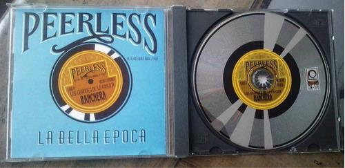 peerless la bella epoca los grandes de la musica ranchera cd