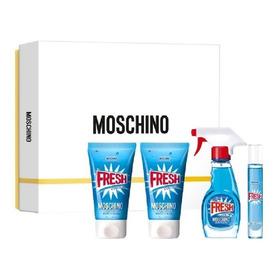 Pefumes Moschino Fresh Couture  100ml Edt Set Perfumeria!