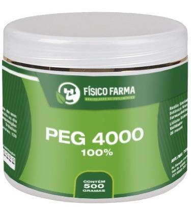 peg 4000 sem eletrólitos 100% puro 2 potes de 500g