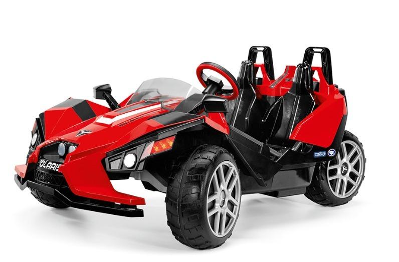Peg Perego Polaris Slingshot Ride On Carro Electrico Juguete