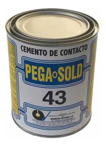 pega amarilla de contacto pega sold 43 976cc 1/4 galon