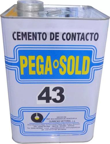 pega amarilla de contacto pega sold 43 cuñete carpintería