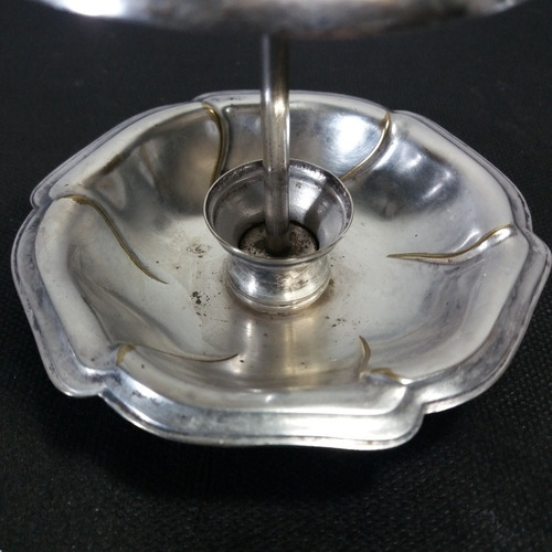 pega petisco antigo folhado prata pouco gasto