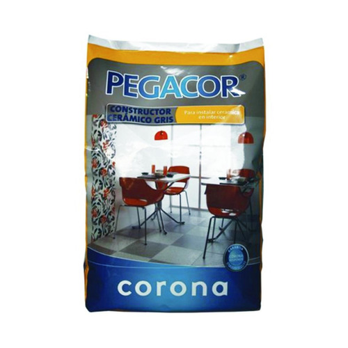 pegacor constructor gris* 40kg corona 901161501
