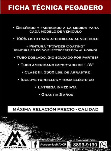 pegadero max pick up ! hilux l200 ranger amarok dmax bt50