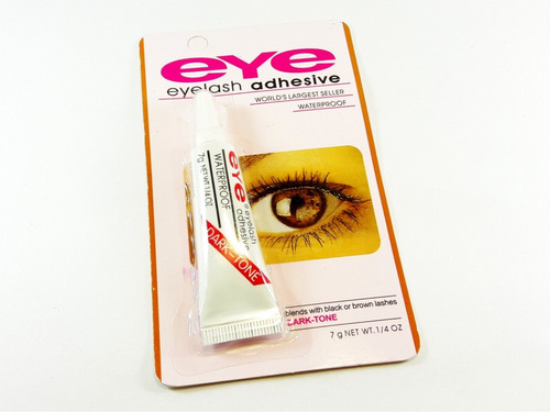pegamento adhesivo para pestañas postizas combo x 3 un