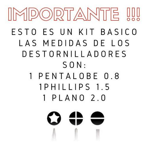 pegamento b7000 mini + kit herramientas basico iphone 4 5 6