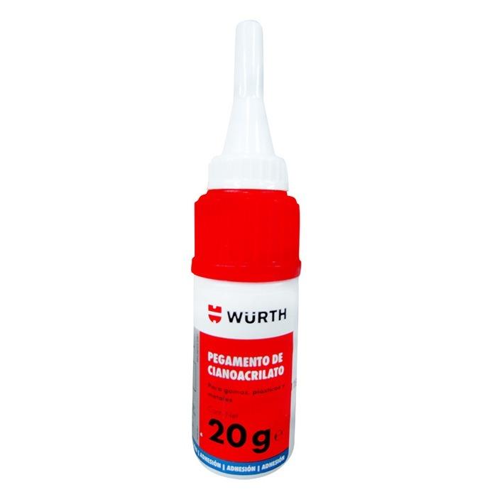 Pegamento de cianocrilato para gomas y pl sticos 20 gr - Pegamentos para plasticos ...