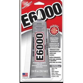 Pegamento E6000 Piedras, Resistencial Industrial 59.10 Ml