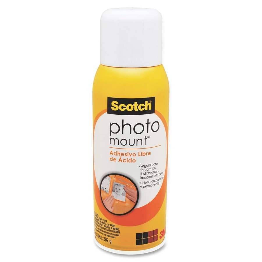 Pegamento en spray para fotos adhesivo photo mount 3m - Adhesivo en spray ...