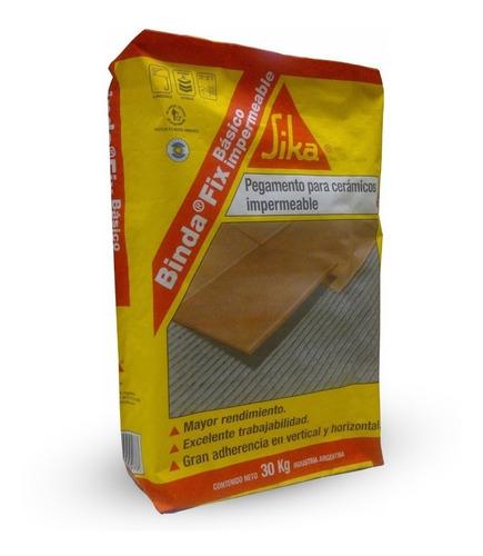 pegamento impermeable sika ceramica bindafix x 30kg - hiemar