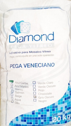 pegamento mosaico veneciano diamond blanco especial albercas