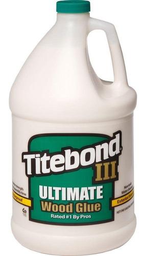 pegamento para madera titebond iii resiste agua galón