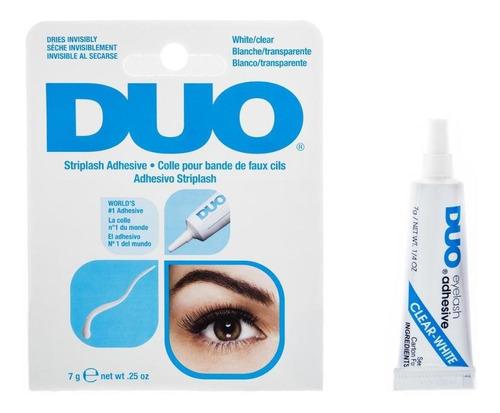 pegamento para pestañas duo | regina cosmetics