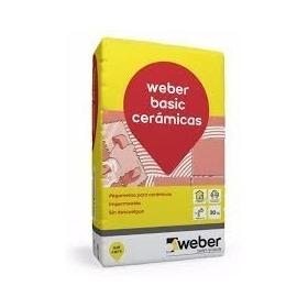 Pegamento Weber Basic