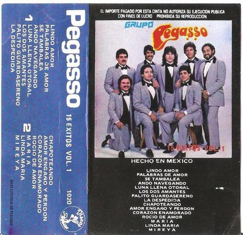 pegasso - 15 exitos vol. 1 (casete original)