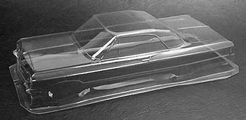 pegasus chevy impala 1/10 '64 lowrider body clear