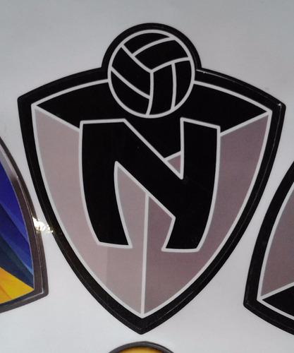 pegatina (sticker) carro club deportivo el nacional