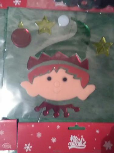 pegatinas de gel decorativas navidad,envio gratis.