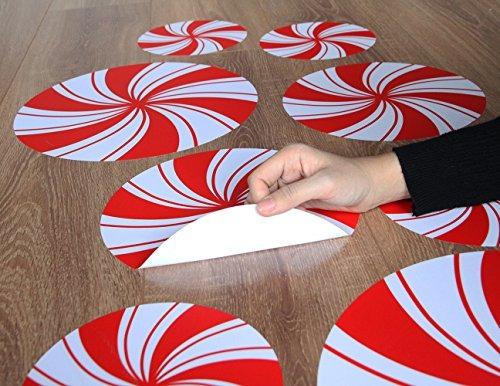 pegatinas de piso de hierbabuena pegatinas para la decoracio