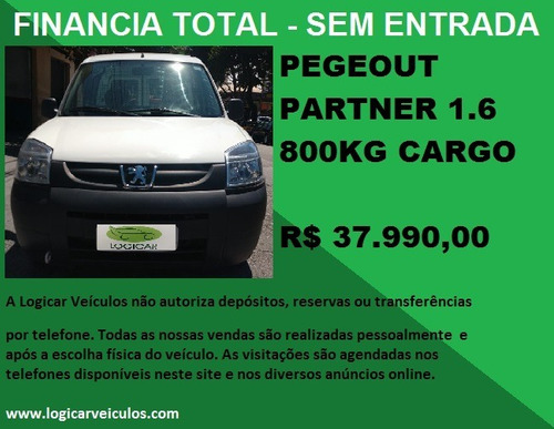 pegeout partner  cargo 1.6 2018