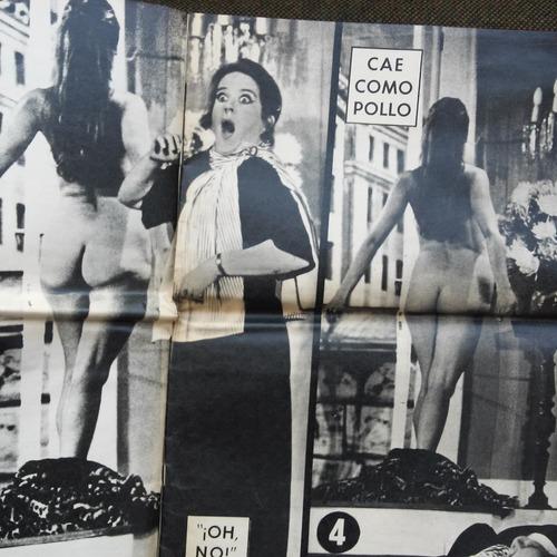 peggy cordero se desnuda en el teatro / semanario de 1971