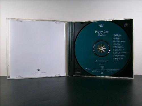 peggy lee mink jazz cd orig imp remaster bonus raridade av8