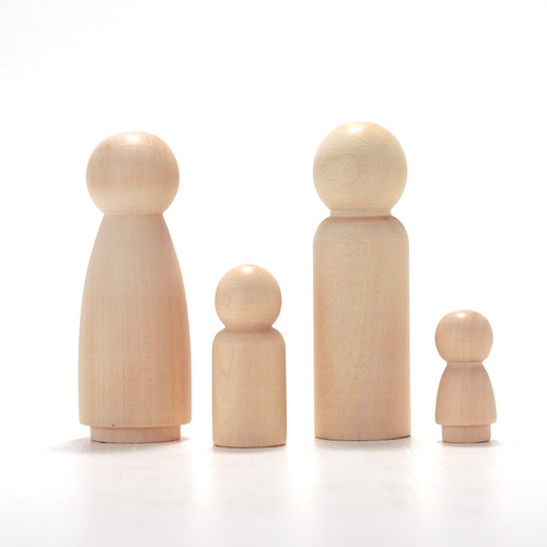pegland muñeco de madera forma humana waldorf montessori