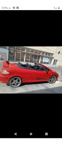 pegout. convertible. 4 cilindros asientos de piel .llantas n