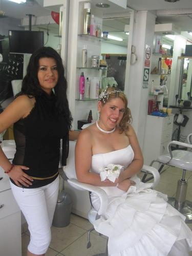 peinado , maquillaje,manicure a domicilio para fiestas