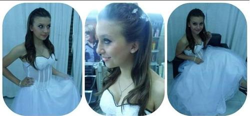 peinado y maquillaje novias-15 años-madrina-producciones