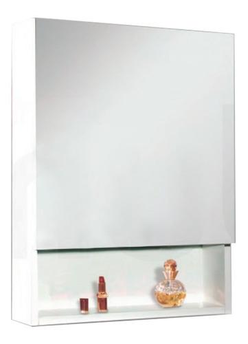 peinador botiquin amube trento 45 cm espejo mueble estante