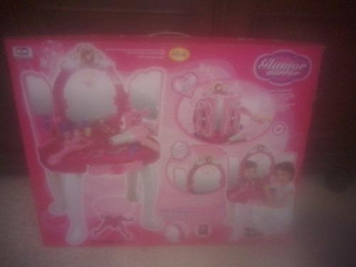 peinadora niñas juguete