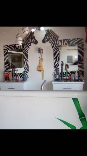 peinadoras de peluqueria animal print