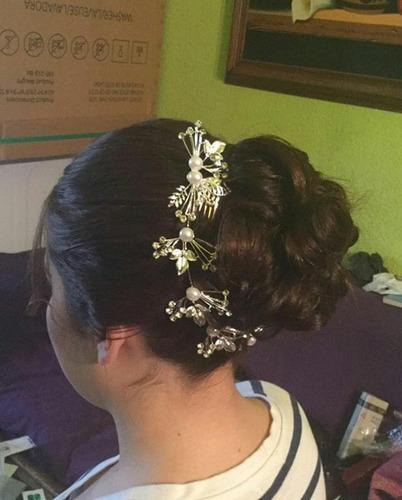 peinados & maquillaje a domicilio