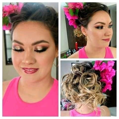 peinados y maquillaje para eventos
