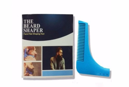 peine barba delineador barba