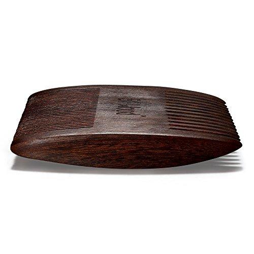 peine de barba bfwood madera de ébano.