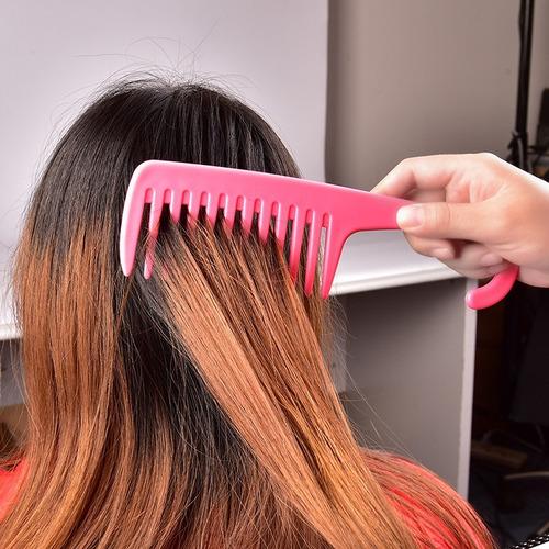 peine de cercdas anchas anti quiebre deseredar y cardar pelo