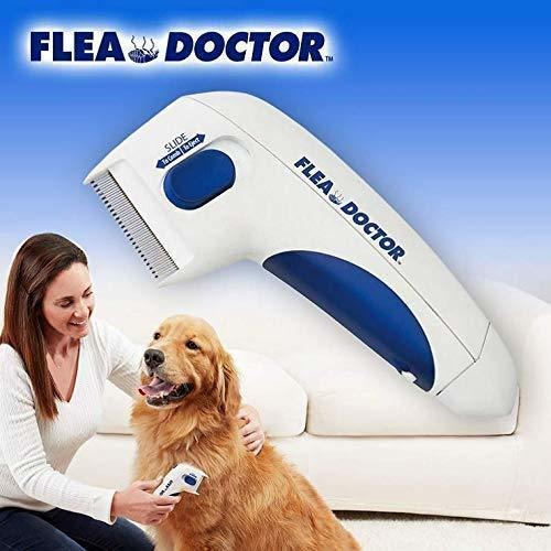 peine eléctrico eliminador de pulgas y garrapatas mascotas